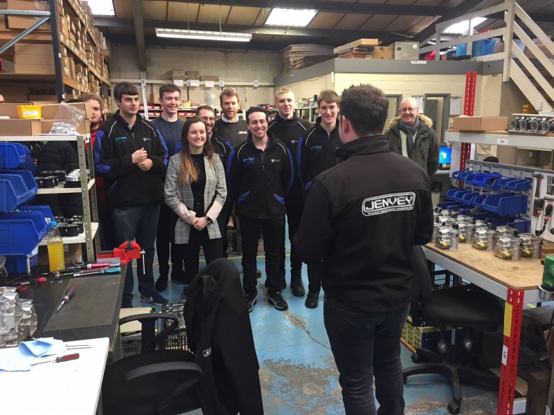 University Of Wolverhampton Students Visit Jenvey