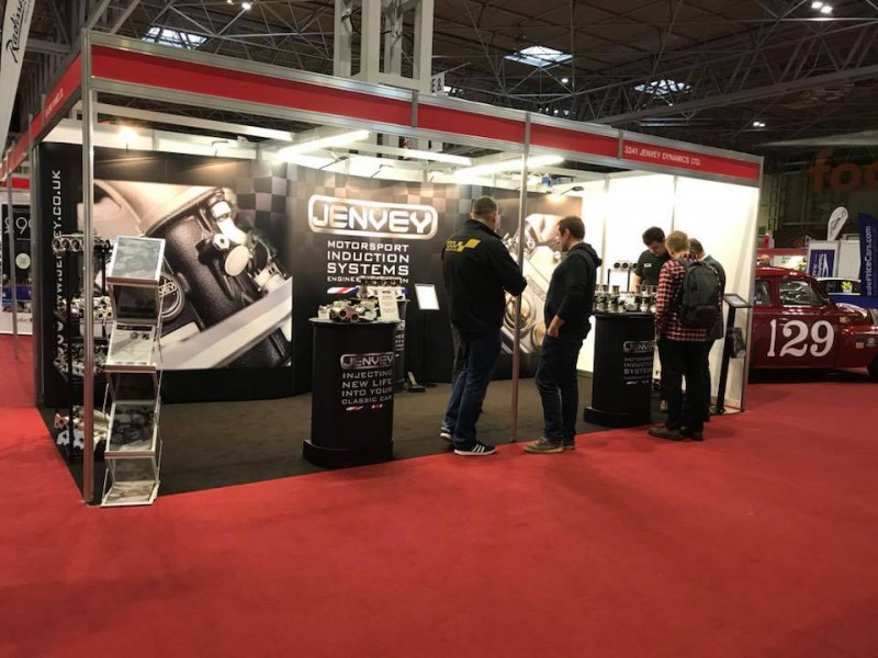 Jenvey at The Autosport International Show 2019